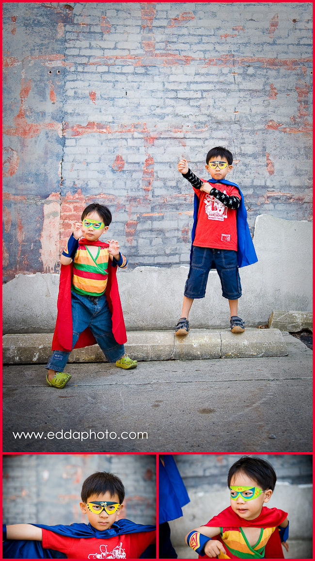 web 1004 Super Heroes from California | Ann Arbor Children and Family Photographer
