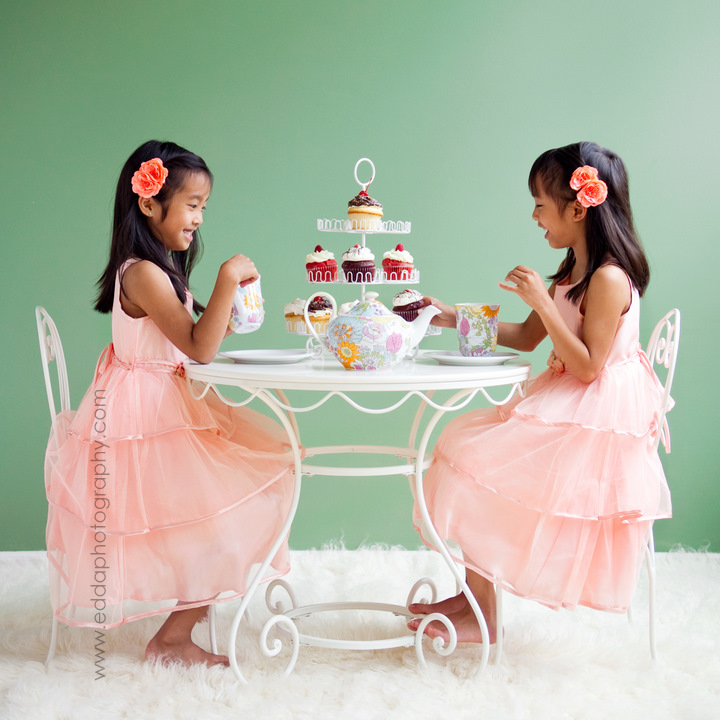 Happy 9th Birthday To My Sweeties Annual Tea Party Photo